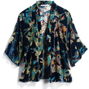 Lissy Velvet Burnout Kimono